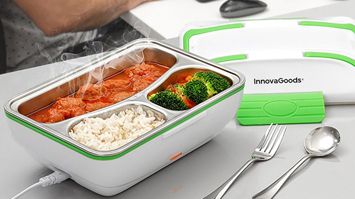 Elektrický obedový box už nenechá vaše jedlo chladné. Zohreje vám ho aj bez mikrovlnnej rúry
