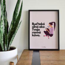 Print Káva - FemaleBoss