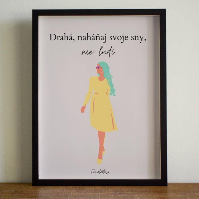 Print Sny - FemaleBoss