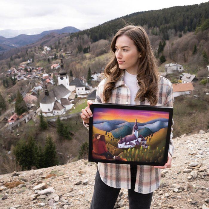 Print Špania Dolina